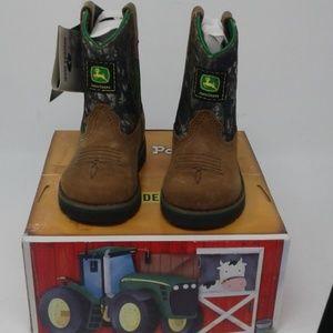 New Johnny Popper John Deere boots size 5.5m